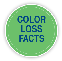 color loss facts